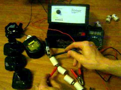 Ремонт аккумулятора от шуруповерта своими руками видео