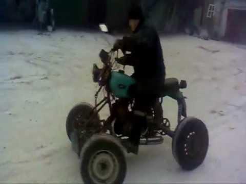 Квадроцикл видео из ижа