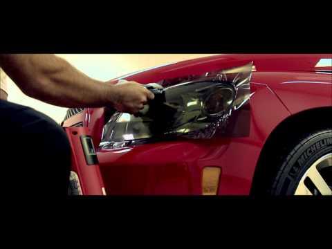 Видео как тонировать авто