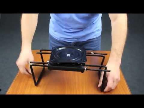 Как сделать поворотный стул для лодки