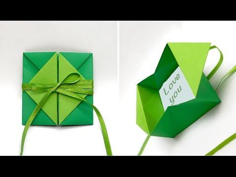 Необычные конверты своими руками из бумаги