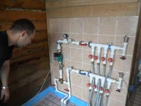 Как самому сделать Тёплые водяные полы своими
