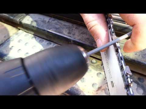 Приспособа для заточки цепи бензопилы своими руками