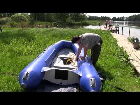 складная лодка риб winboat 430rf sprint видео