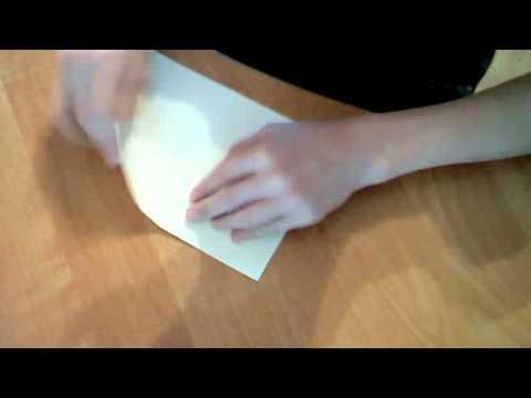 Как сделать из бумаги лифчик