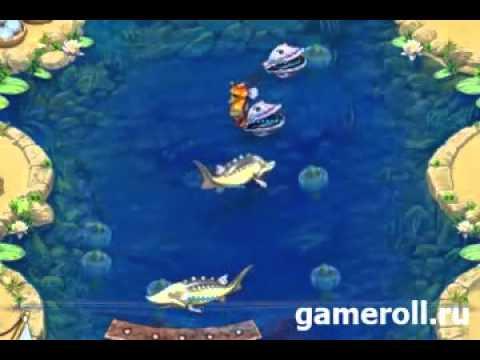 Смотреть онлайн в качестве Farm Frenzy Gone Fishing Game, for Free