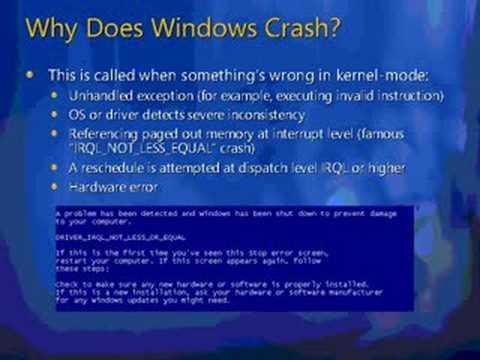 Crash analyze