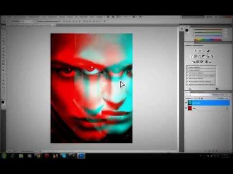 Как сделать эффекты в фотошопе онлайн