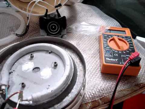 Как заменить тэн электрочайника своими руками