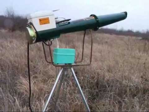 Мощная ультразвуковая пушка