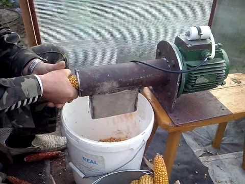 Лущилка для кукурузы своими руками