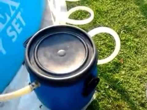 Как своими руками сделать фильтр для бассейна