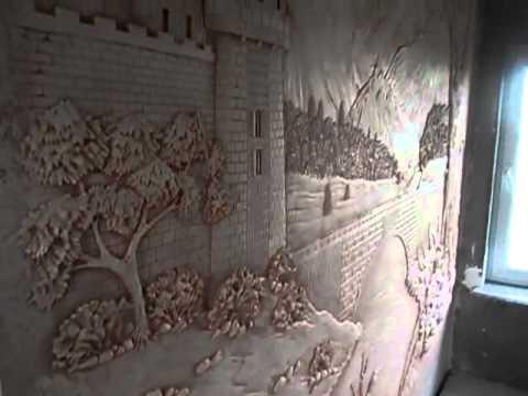 Барельефы на стенах своими руками для начинающих