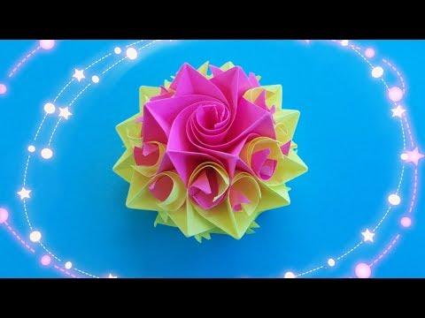 Сделать цветы из бумаги своими руками мастер класс
