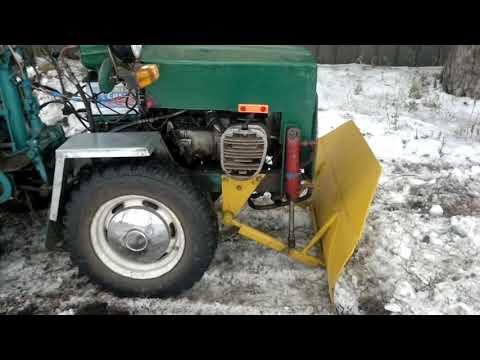 Трактор своими руками с валом отбора мощности