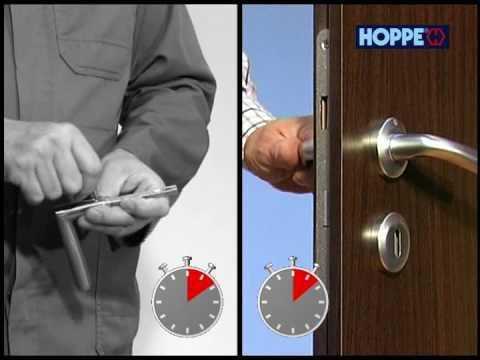 Онлайн видео Быстрая установка дверных ручек. Вы можете посмотреть