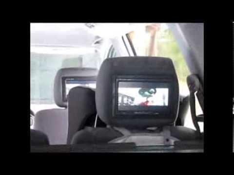 Монитор в подголовник своими руками видео