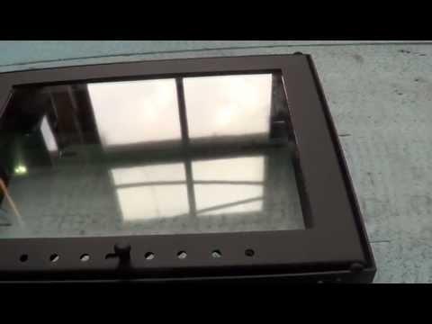 Дверцы для камина видео