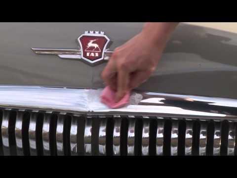 Полировка хромированных деталей автомобиля