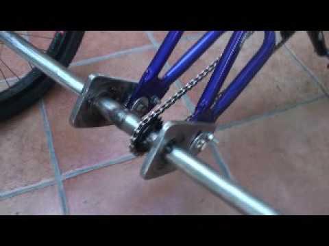 Задний мост трехколесного велосипеда своими руками