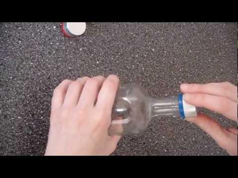 как сделать колпак из напёрстка и крышки видео ставить