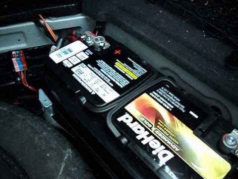 Как заменить аккумулятор на мерседесе gl 500