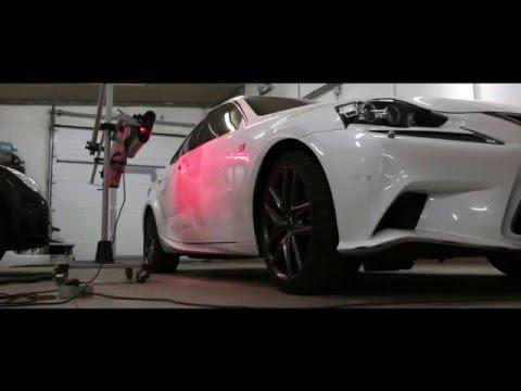 ГНТИ - Ремонт Lexus IS компанией ДефектовНЕТ - Видеорепортажи из мира науки и техники