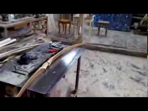 Лук из березы видео