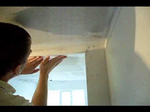 Поклейка стеклохолста своими руками