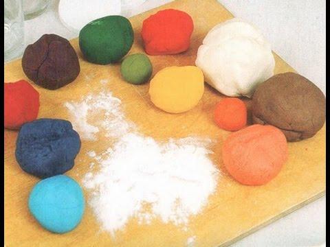 Как сделать солёное тесто для поделок цветное