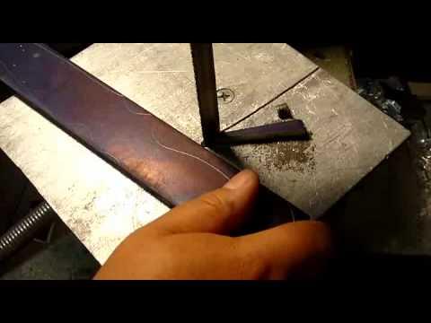 Металл для изготовления ножа своими руками