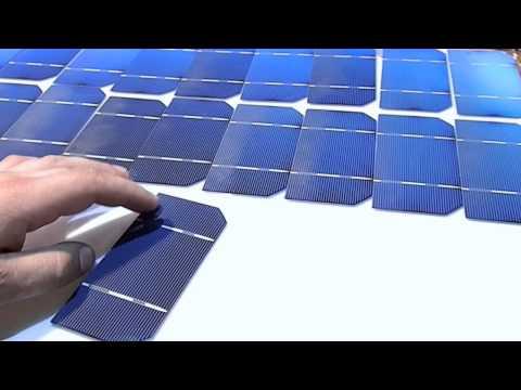 Как сделать батарею на солнечных батареях