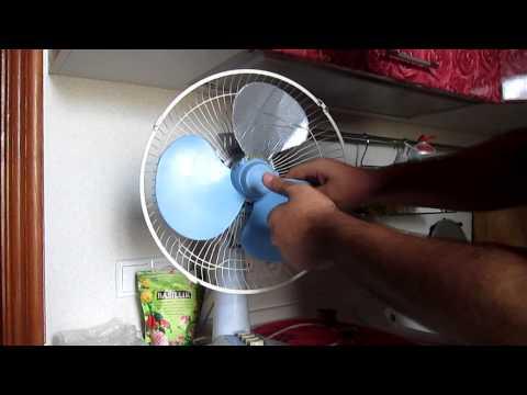 Лопасти для напольного вентилятора своими руками