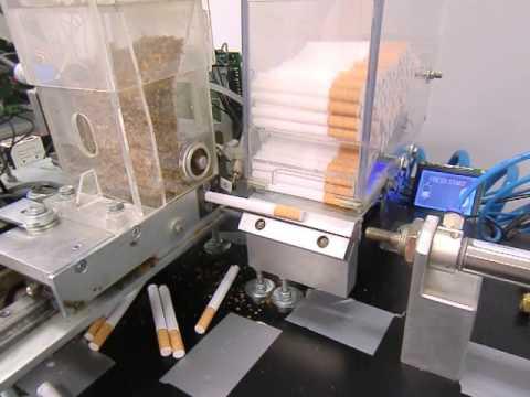 Станок для производства сигарет в домашних условиях