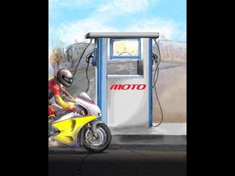 Кончился бензин на квадроцикле