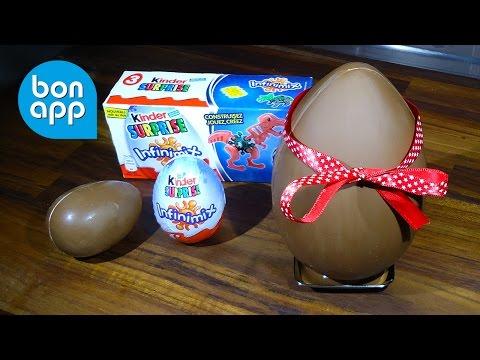 Как сделать сюрприз из шоколадных яиц
