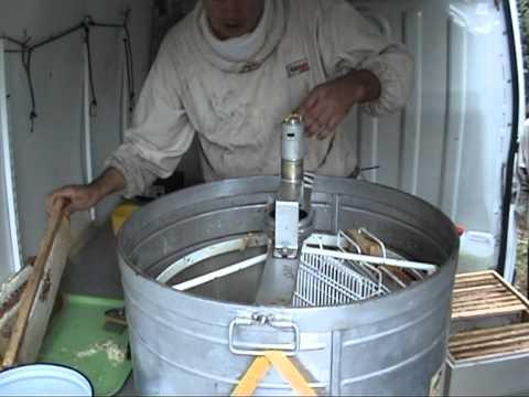 Пчеловодство изготовление медогонки