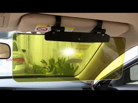 Солнцезащитные козырьки для автомобиля своими руками