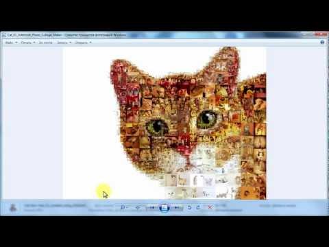 Как сделать большой коллаж из фотографий на компьютере