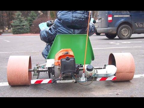 Дрифт трайк с мотором видео