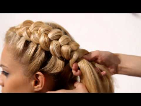 Мастер класс коса с накладными прядями