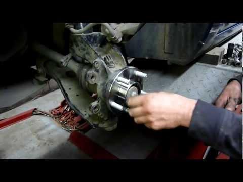 Как поменять ступицу на форд фокус 2 своими руками