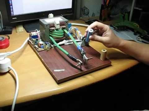 Точечная сварка своими руками для аккумуляторов