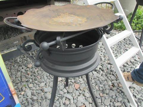 Сковорода из диска видео