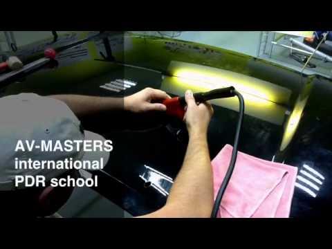 Индуктор для выправления вмятин без покраски своими руками