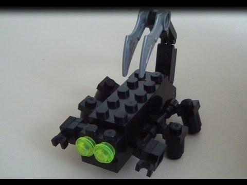 Как сделать скорпиона своими руками из лего