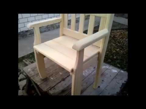 Кресло на дачу своими руками фото