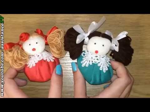 Поделки своими руками куколки из ткани