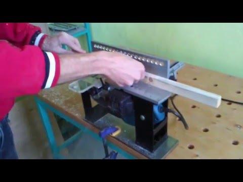 Заточка ножей для электрорубанка своими руками видео