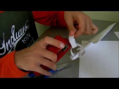 Как из бумаги сделать кунай скорпиона из бумаги